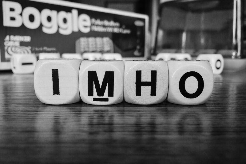 Що таке IMHO - візначення простими словами