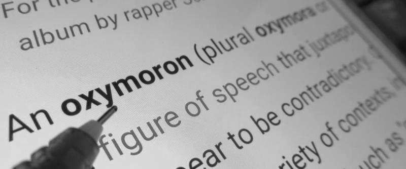 Що таке Оксюморон простими словами