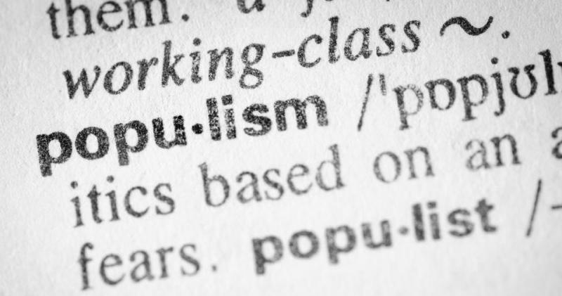 Що таке популізм простими словами